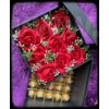 Kép 2/7 - Virág és rejtett csokoládé box
