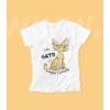 Kép 2/3 - I like cats női póló