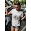 Kép 2/3 - Különleges fényképes női póló