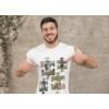 Kép 2/3 - Puzzle fényképes férfi póló