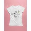 Kép 1/3 - Lets get party lánybúcsús póló