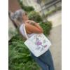 Kép 2/14 - Unikornis mintás lenvászon táska, több féle