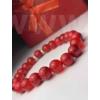 Kép 1/2 - Piros talizmán női ásvány karkötő