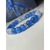 Kép 2/2 - Tengeri kékség női ásvány karkötő