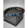 Kép 2/2 - Királyi Lapis Lazuli - Férfi Ásvány Karkötő