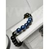 Kép 1/2 - Királyi Lapis Lazuli - Férfi Ásvány Karkötő