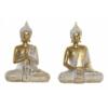 Kép 1/3 - Buddha szobor arany színben