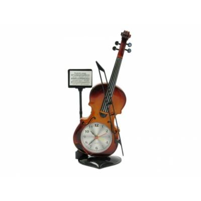 Hegedű óra 27cm