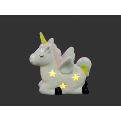 LEDes világító unicornis 11cm