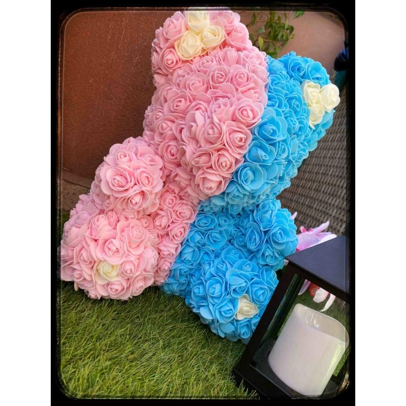 Rózsa maci 35cm