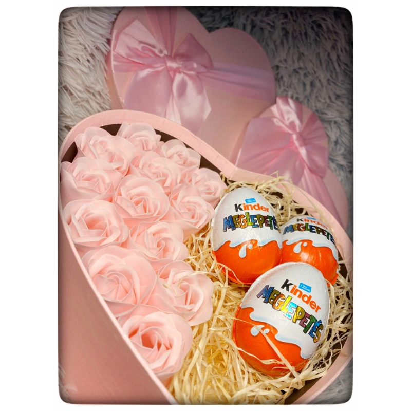 Rose Surprise Box  L