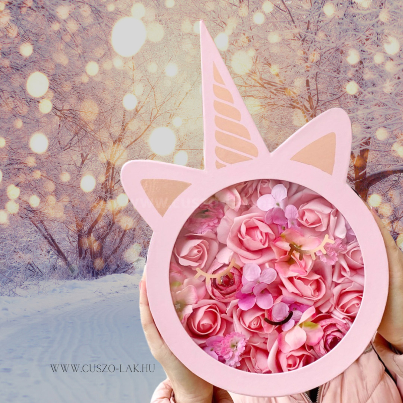 Unikorn Rose Box