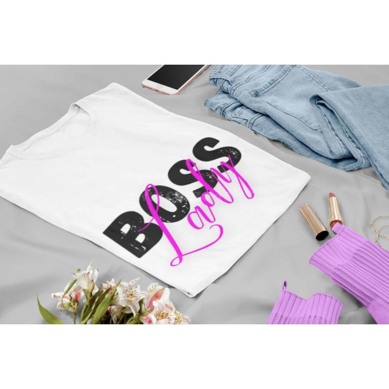 Boss Lady női póló