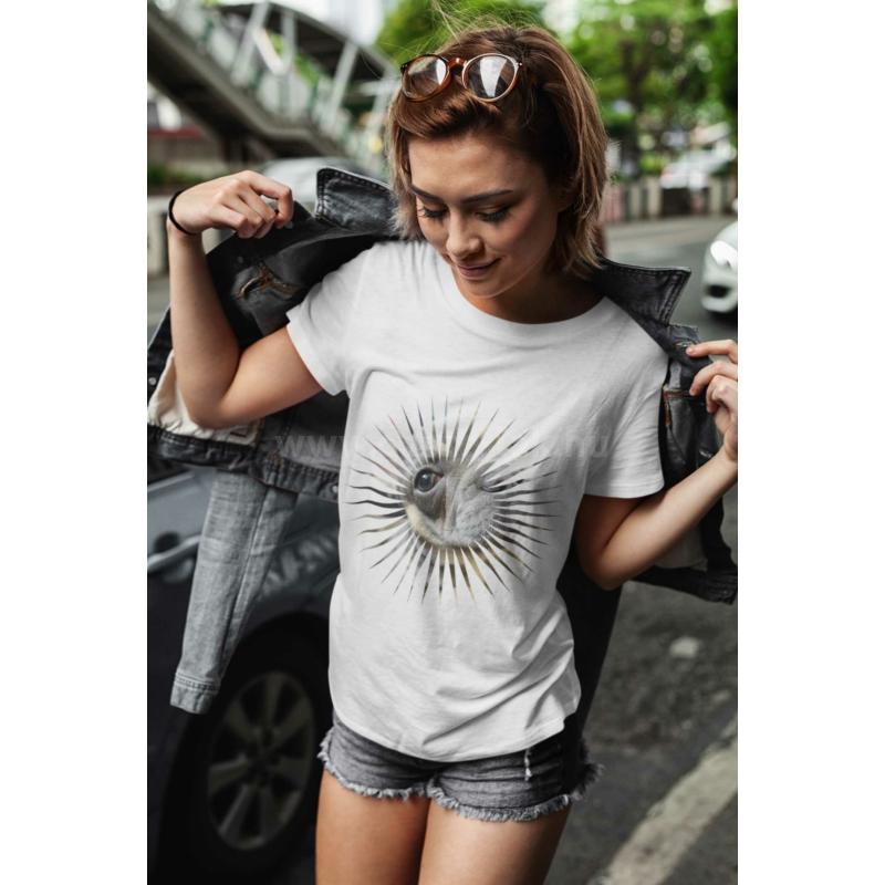 Különleges fényképes női póló