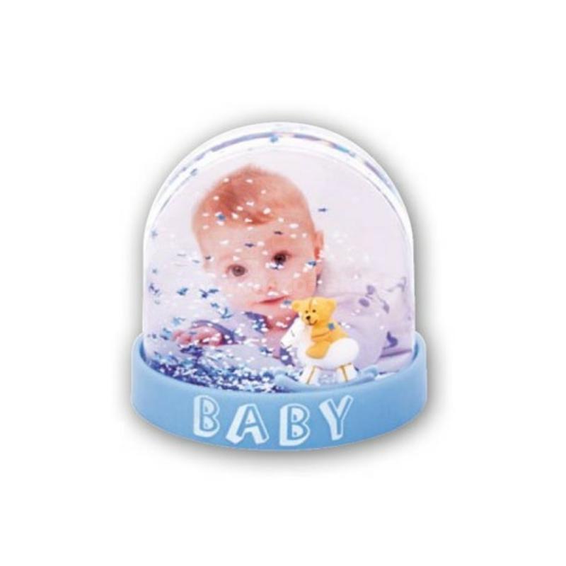 Fényképes baby hógömb