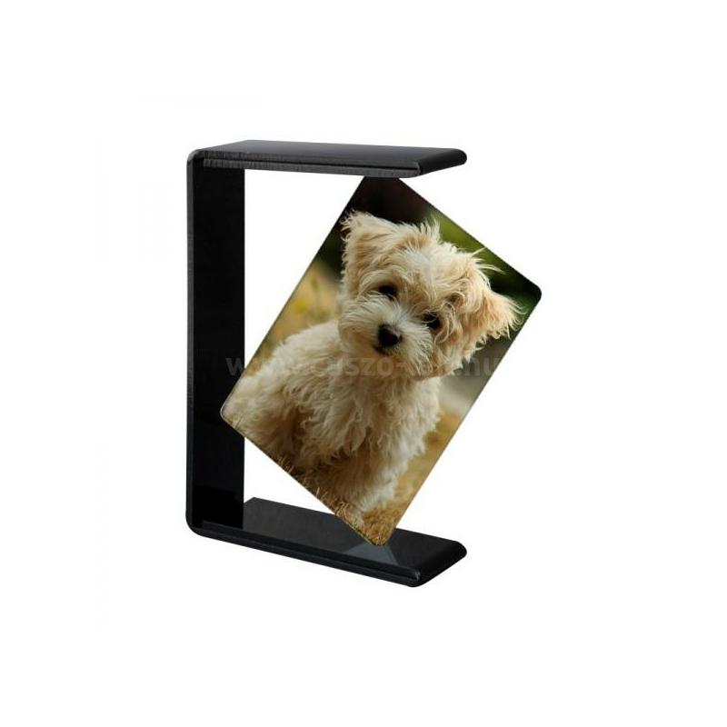 Fotóüveg acryl fekete keretben