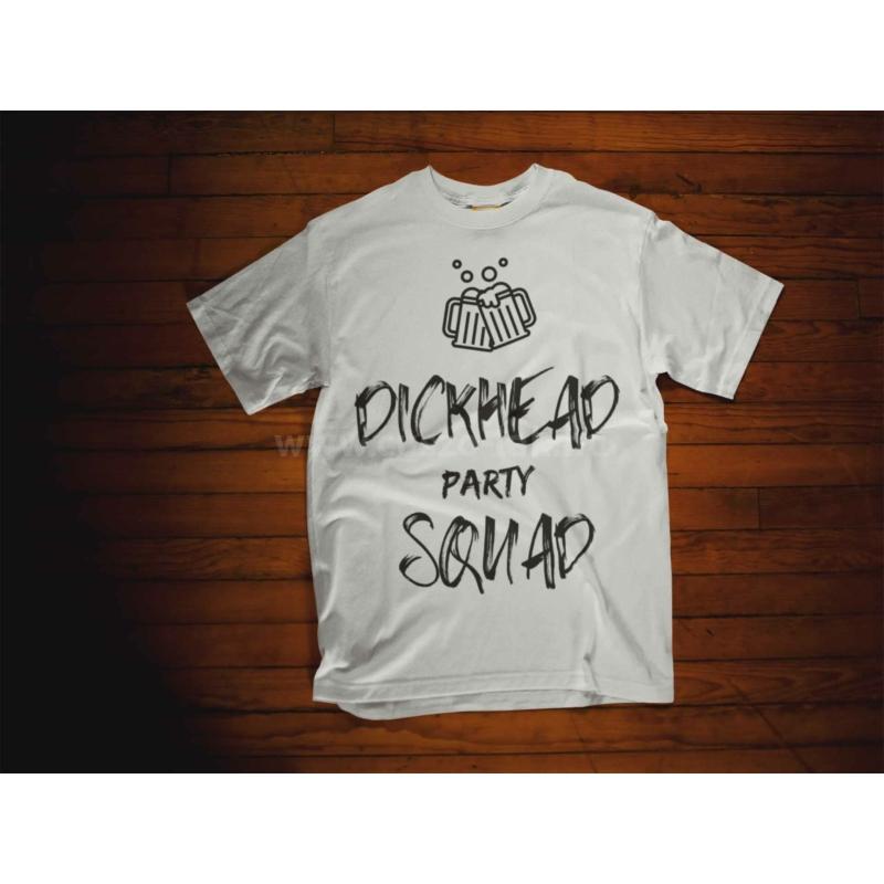 Dickhead Party Squad legénybúcsús póló