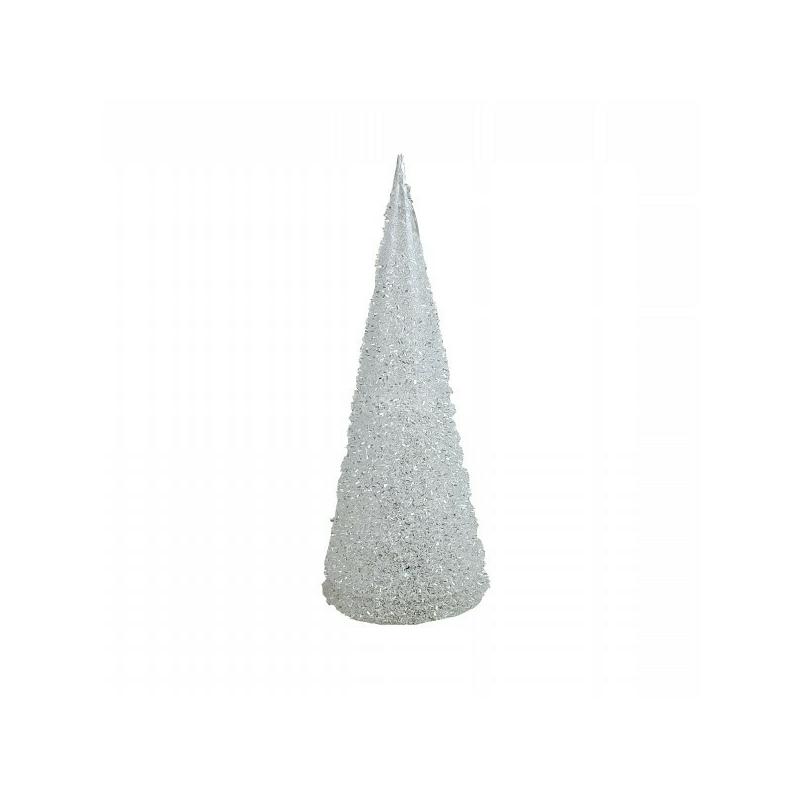 Piramis alakú LED asztaldísz