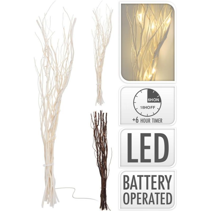 LED fűzfavessző köteg