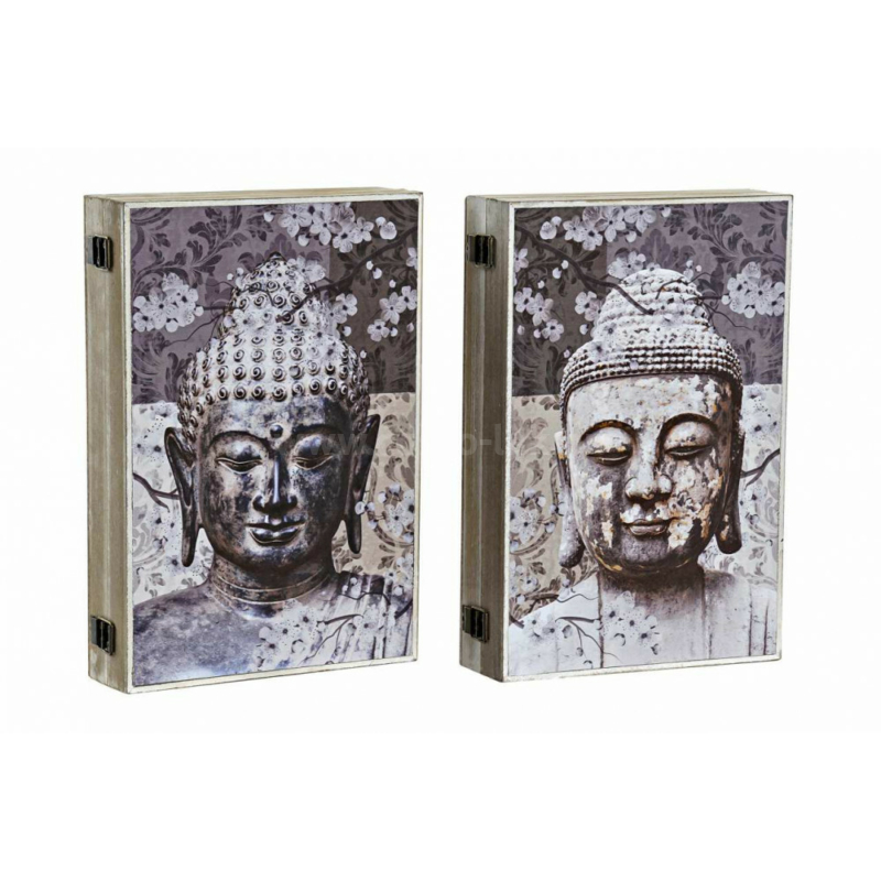 Fali kulcstartó Buddha