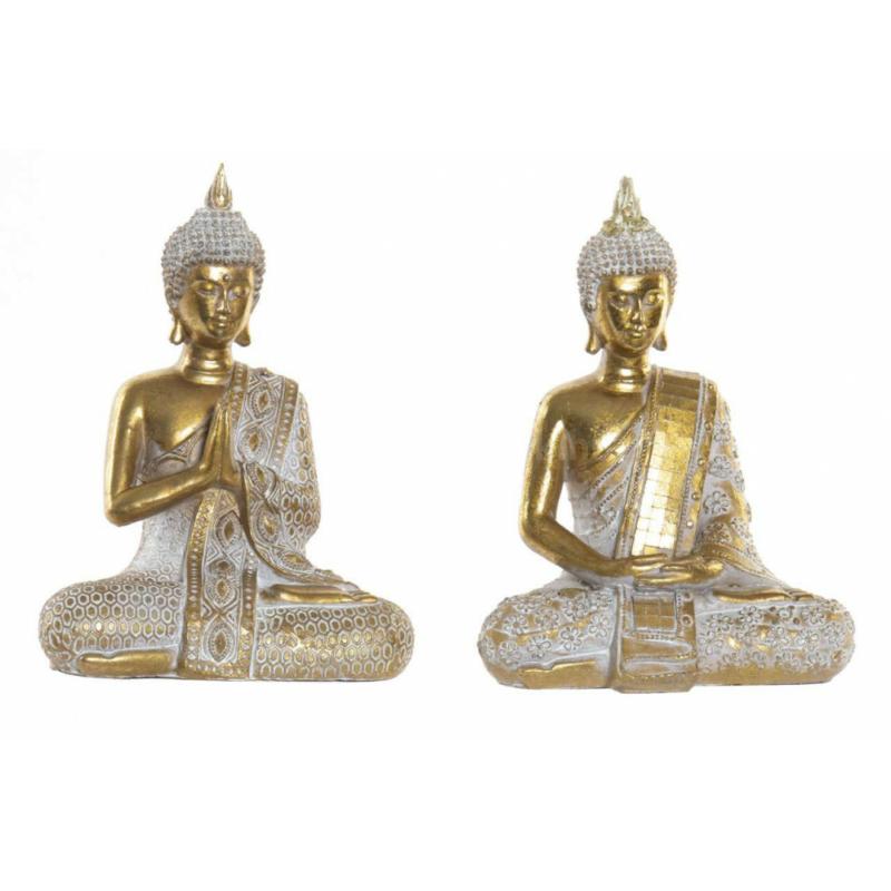 Buddha szobor arany színben