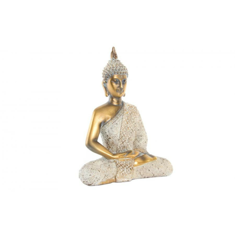 Buddha szobor fehér régies
