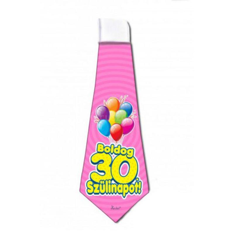 Boldog 30 Szülinapot Nyakkendő