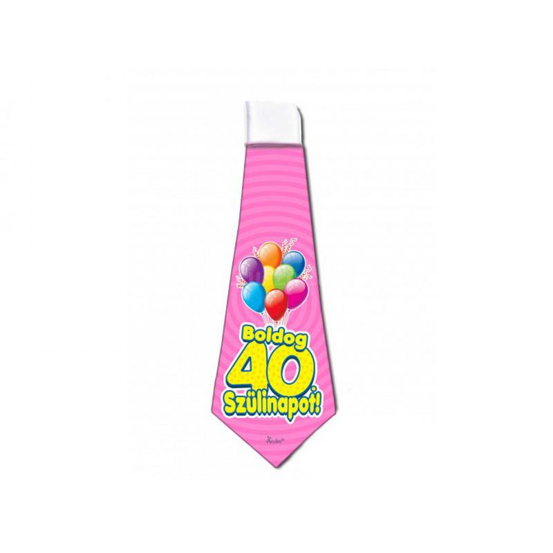 Boldog 40 Szülinapot