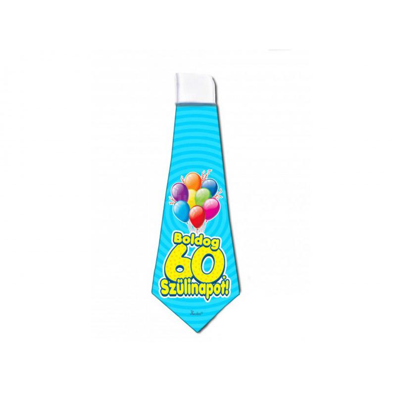Boldog 60. Szülinapot nyakkendő